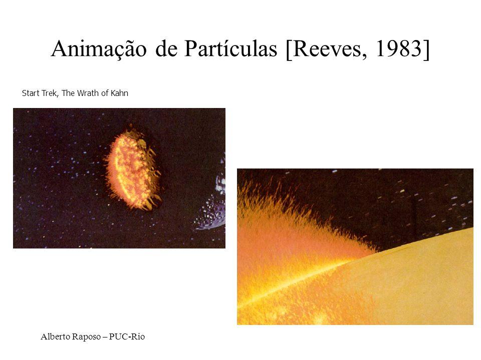 Animação de Partículas [Reeves, 1983]